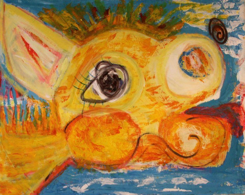 Gulkalven/ The Yellow Calf
