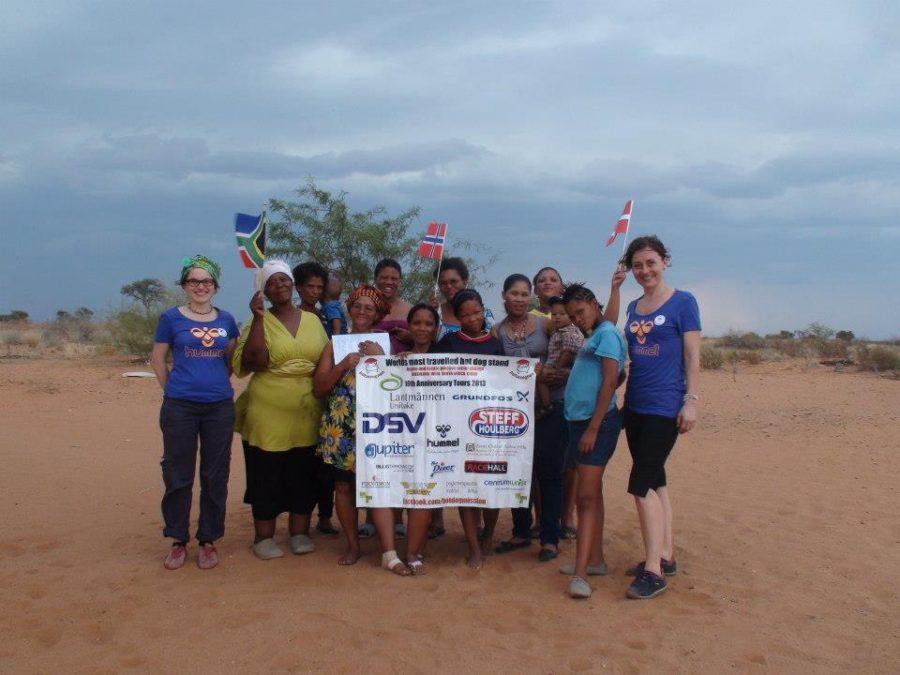 Microloan businesses in the Kalahari Desert